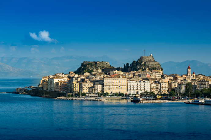 Corfu's Old Town is a UNESCO World Heritage Site.